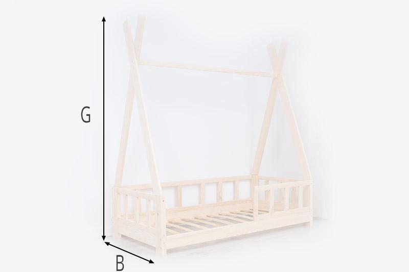Verfügbare Größen Hausbett Iha